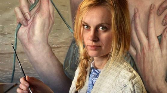 Jana Brike portrait image, courtesy of the artist