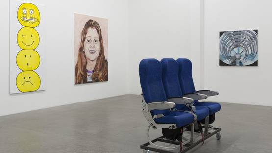 Jana Euler - Female Jesus Crying in Public, show at Galerie Neu, photo via galerienou com