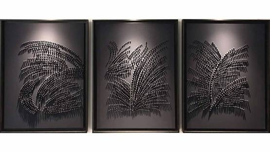 Jane Puylagarde - Blue Triptych III, 2017