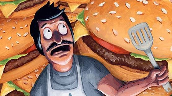 Jason Chalker - Night of the Burgers (detail), 2016 - image courtesy of Spoke Art