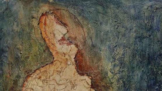 Jean Fautrier - Sarah (detail) - 1943