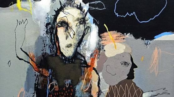 Jean-Louis Bessède - the blue tree, 2020 (detail)