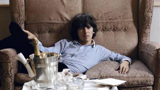 Jean-Marie Périer - George Harrison, George V hotel, Paris, May 1965 (detail)