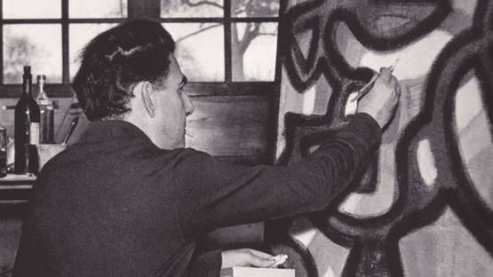 Jean-Michel Atlan - portrait