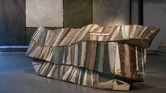 Jean-Pierre Pincemin - Retrospective - Paris - 2011 - installation view