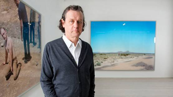 Jeff Wall - portrait - photo credits Linda Nylind, image via theguardiancom