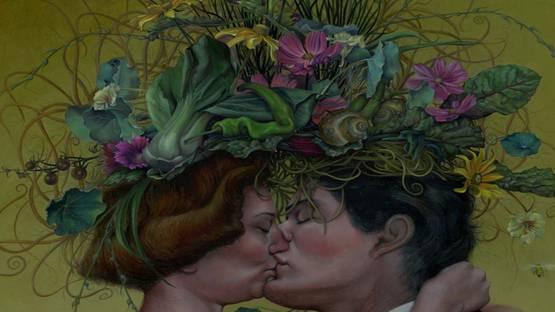 Jennifer Knaus - The Kiss (detail), 2013