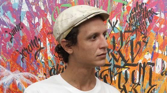 Jeremy Besset - portrait (detail) - image courtesy of the artist