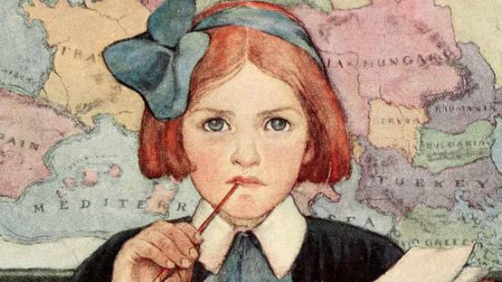 Jessie Willcox Smith - The Seven Ages of Childhood, 1909 (detail)