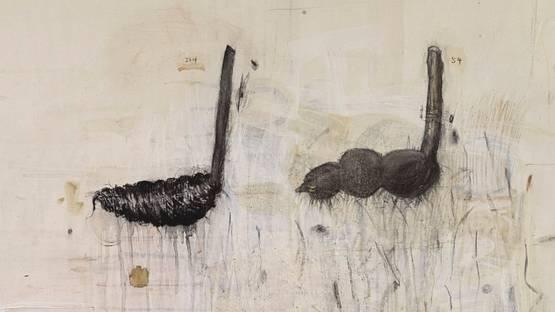 Ji Dachun - Untitled (detail), 1995 - image via sothebyscom