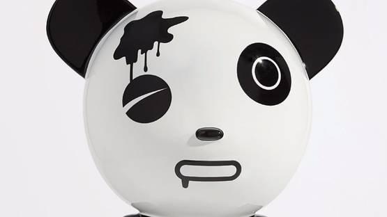 Jiji - Wounded Panda, from Hi Panda, 2006 (detail)