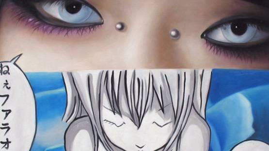 Jimmy Yoshimura - Blu Eyes (detail), 2009