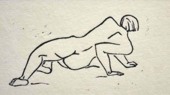 Jiri Jaska - Nude, 1934 (detail)