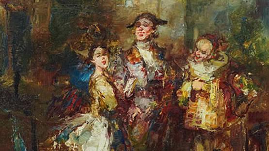 Joan Camo Sentis - The Performers (detail)