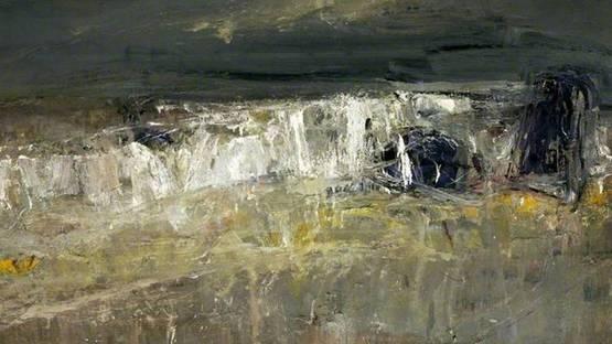 Joan Eardley - A Stormy Sea No.1 (detail), 1960