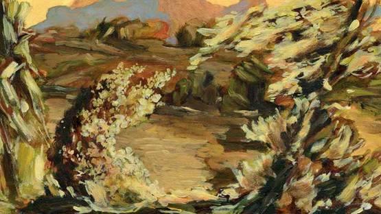 Joao Queiroz - detail of an artwork - photo via artadentro