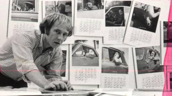 Joe Goode - in his studio - 1968