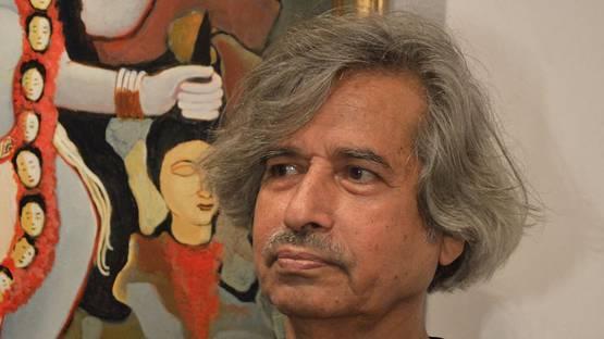 Jogen Chowdhury - portrait, photo credits wikimedia