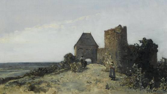 Johan Barthold Jongkind - Ruins of the Rosemont castle - Image via wikipedia