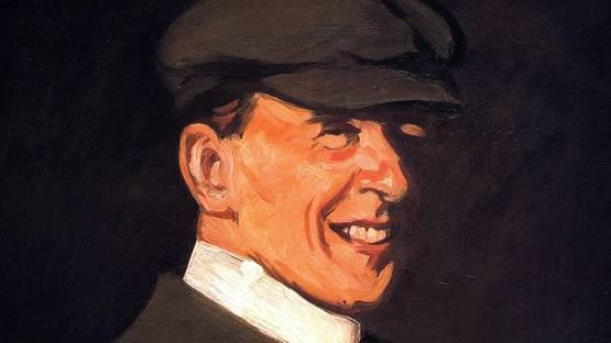 John Duncan Fergusson - Self-Portrait - image via oceansbridge.com