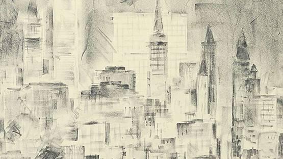 John Henry Page Jr - New York at Night (detail)