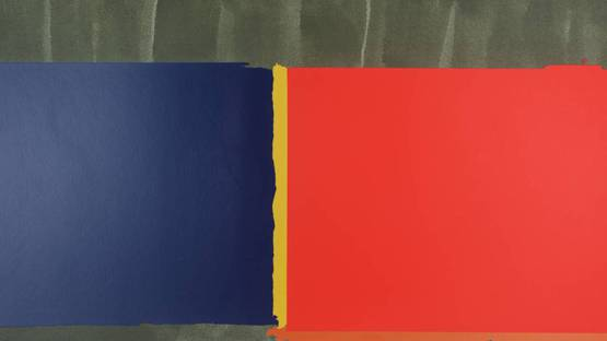 John Hoyland - Red, Blue (detail), 1969, photo credits - Tate