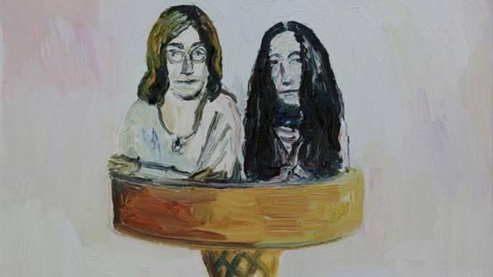 John Kilduff - John and Yoko, Double Scoop, 2018 (detail)