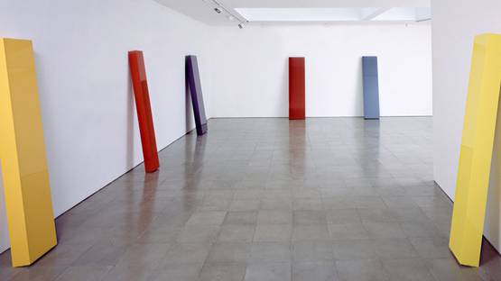 John McCracken - installation view, Lisson Gallery - 2001