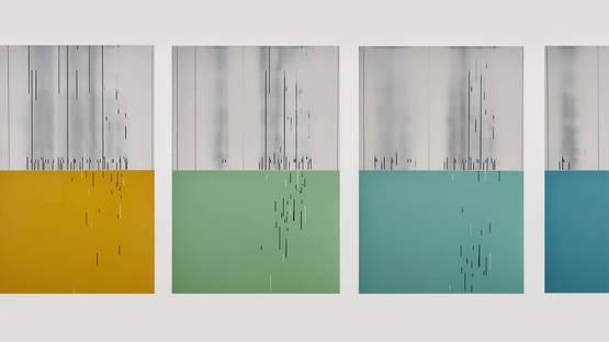John Pomara - off_Key 10, 2012 (Detail) - Copyright Barry Whistler Gallery