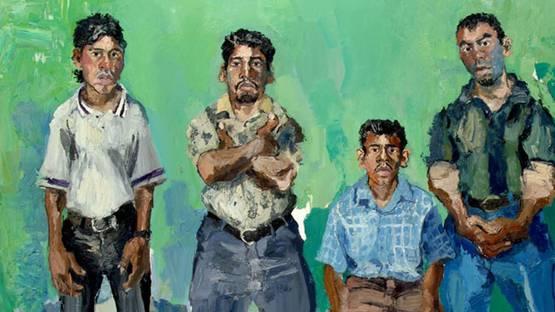 John Sonsini - Daniel, Rudy, Jose, Gabriel (detail)
