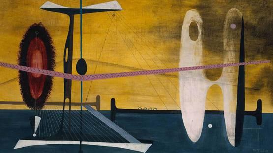 John Tunnard - Fulcrum, 1939 - Tate Collection