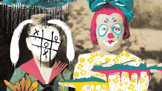 Johnathan Reiner - Family Contsellation - Bunny & Clown (detail)