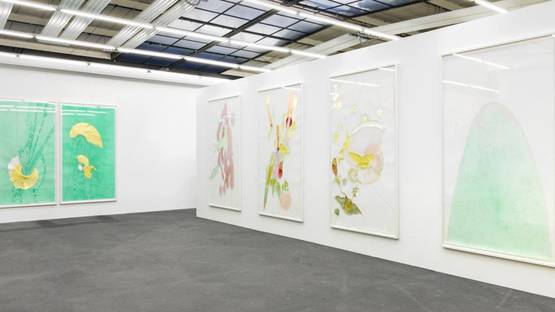 Jorinde Voigt - exhibition at Konig Galerie, 2014, installation view, photo credits Konig Galerie