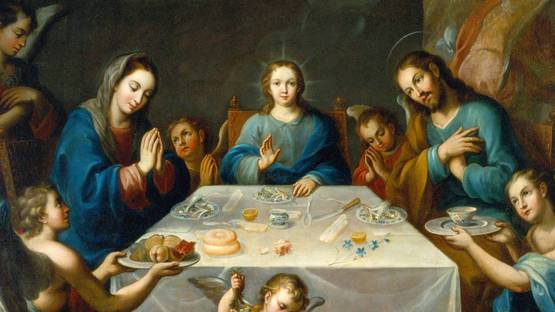 Jose De Alcibar - The Blessing of the Table - Image via wikipedia