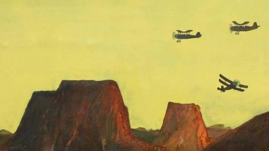 Jose Gamarra - El Ultimo de los Mohicanos (detail)