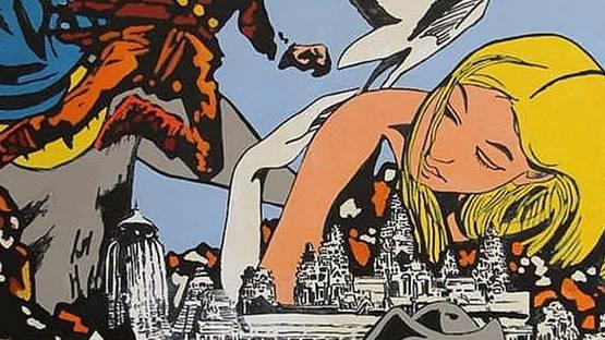 Jose Goemaere - Science Fiction (detail), 1969