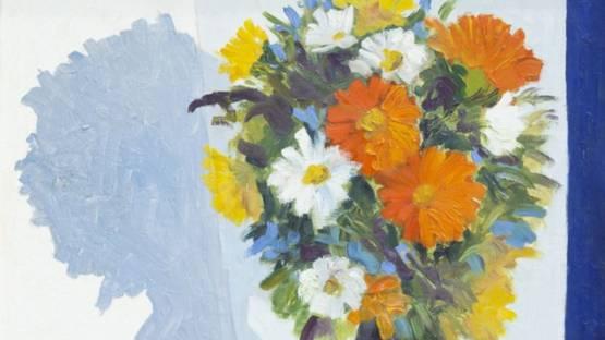 Jose Luis Figueroa - Still Life with Flowers, ca 1980 (detail)