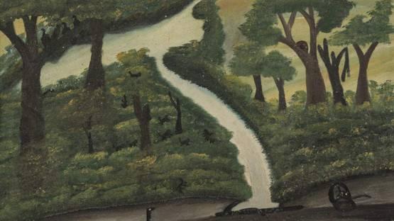 José Antônio da Silva - Untitled, 1948 (detail)