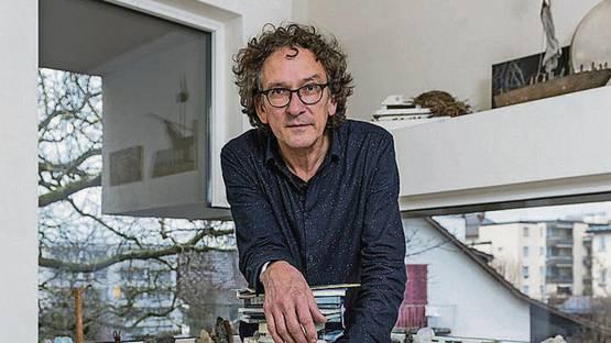 Josef Felix Muller - Portrait of the artist (Detail), photo credits Tagblatt