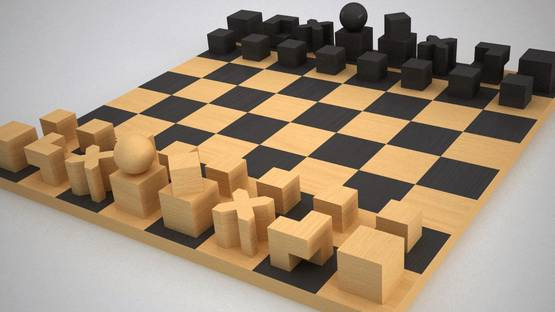 Josef Hartwig - The Chess Set, 1922. Image via spicewoodchess.org
