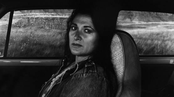 Judy Dater - Self portrait in car, 1982