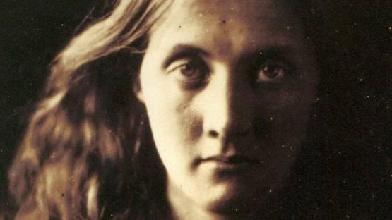 Julia Margaret Cameron - Stella, Study of Julia Jackson (Mrs. Herbert Duckworth), 1867 (detail) - image via wikimediaorg