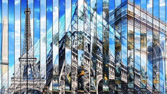 Julien Dubois - 3D Paris Pyramide (detail), image courtesy of the artist