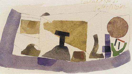 Julius Bissier - Rondine (detail) - 1961