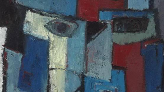 Karel Bleijenberg - Untitled, 1968, detail - image courtesy of Museuraset
