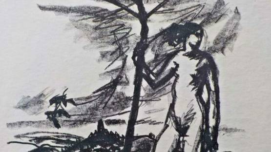 Karl Blocherer - untitled, 1910 (detail)