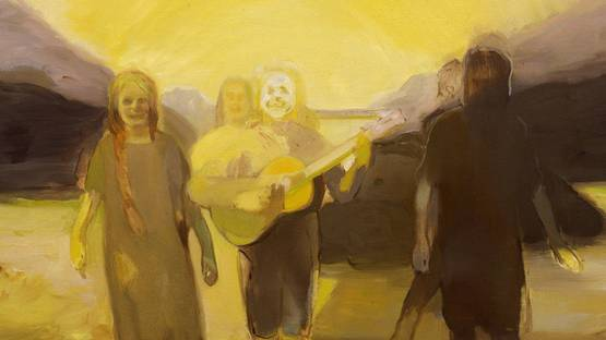 Kaye Donachie - Untitled (Detail) - image via maureenpaleycom