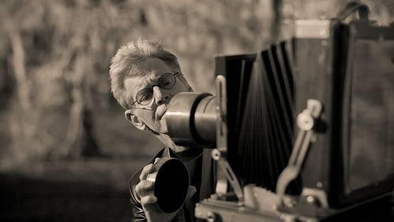 Keith Carter's Portrait - image via lumiquestcom