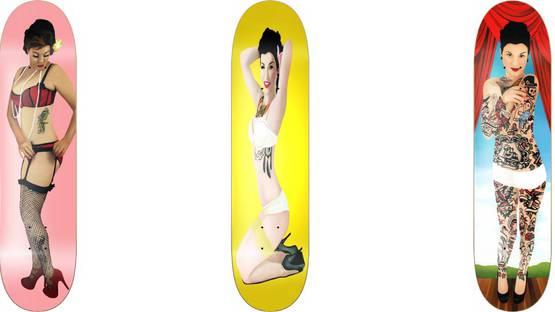 Kelly Hutchison - Skateboards