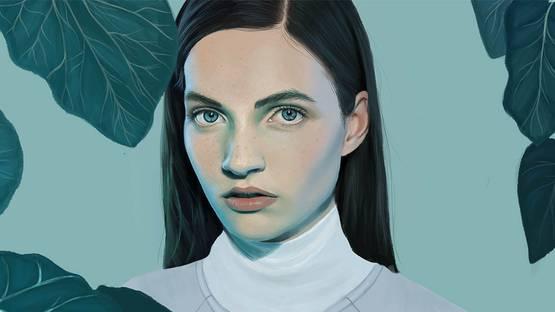 Kemi Mai - Untitled (Detail) - image via tumblcom